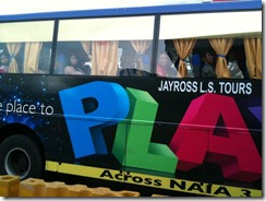 Actual Jayross Bus
