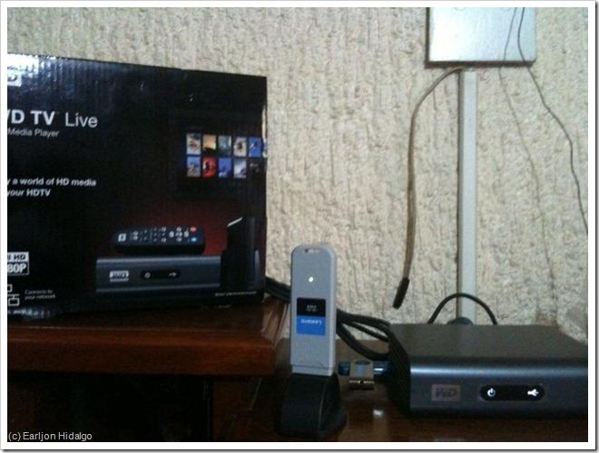 My WDTV Live setup