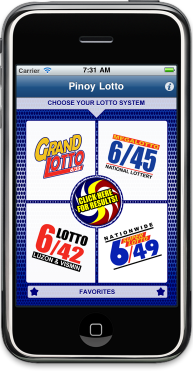 Pinoy Lotto AppStor